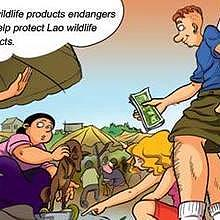 Don't buy wild products, many species are already in danger