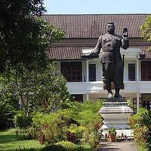 Statue of Sisavang Vong, King of Luang Phrabang 1904–46, King of Laos 1946–59