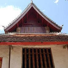Wat Pak Kham in Luang Prabang - window