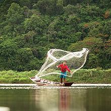 Fishing, a Lao way of living
